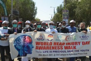 World Head Injury Day Observed in Hyderabad- Sindh Courier