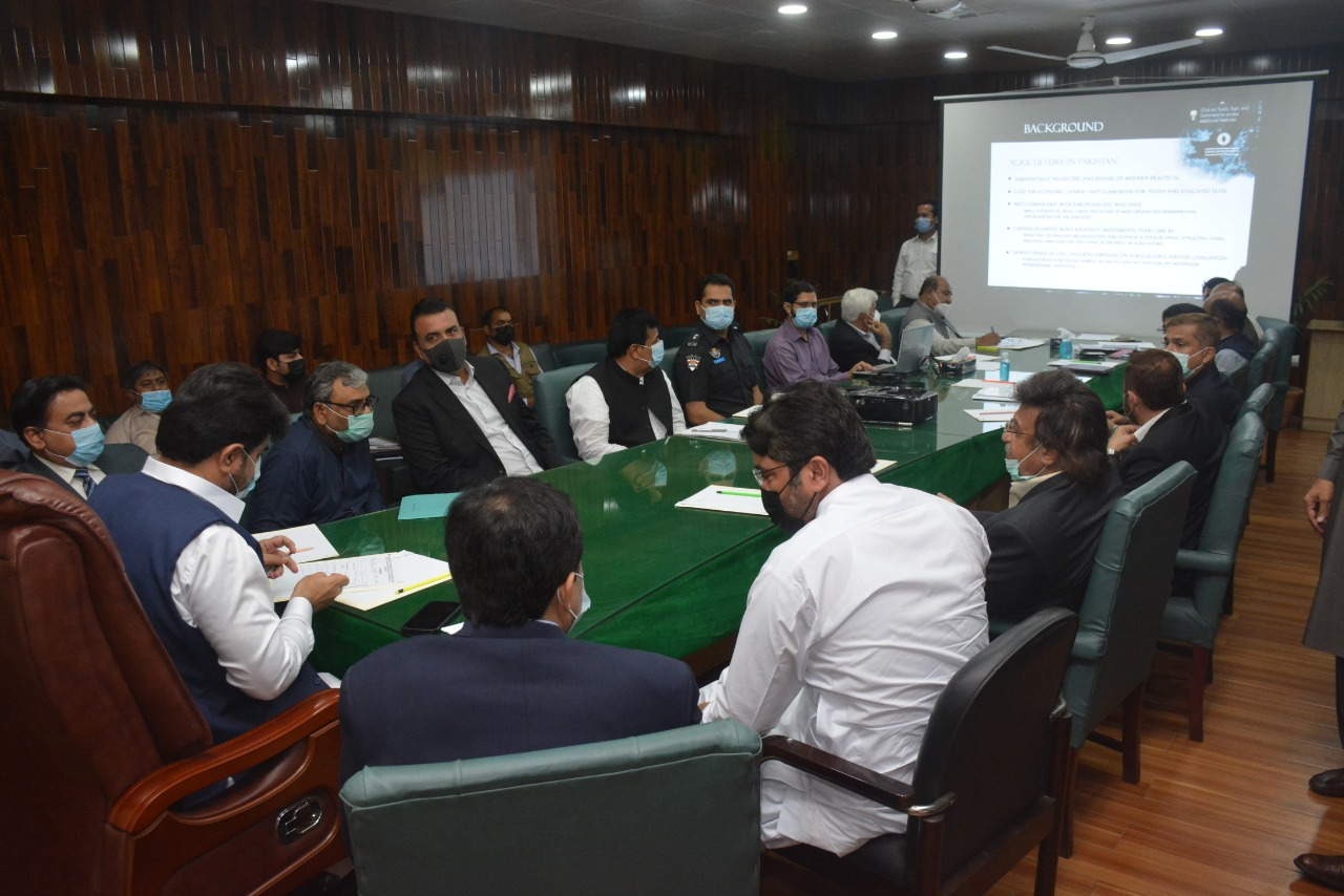 Photo of A private sector Agriculture Research Center to be setup in Thatta