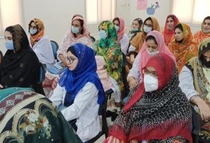 Badin doctors imparted training on treatment of depression- Sindh Courier-1