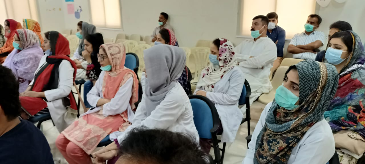 Badin doctors imparted training on treatment of depression- Sindh Courier-2
