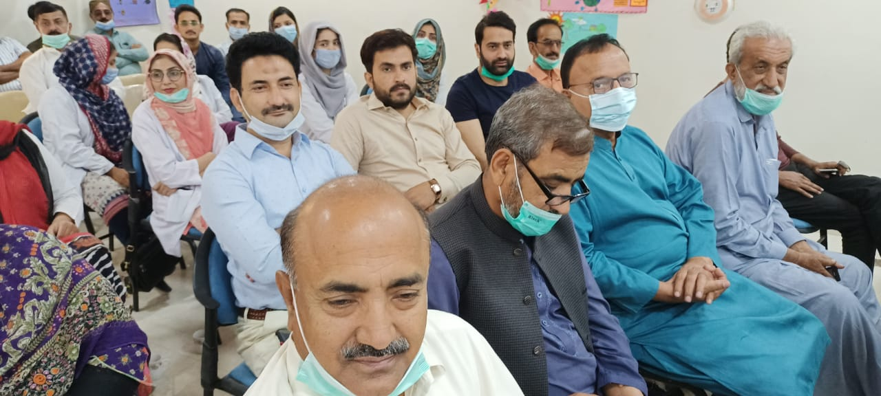 Badin doctors imparted training on treatment of depression- Sindh Courier-6
