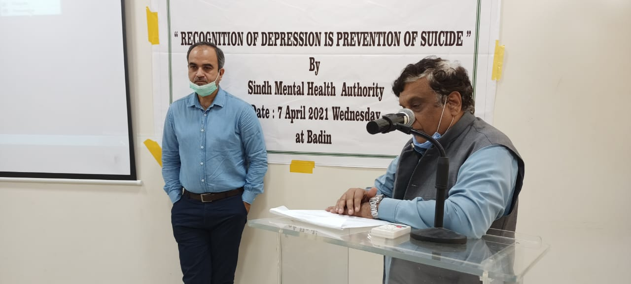 Badin doctors imparted training on treatment of depression- Sindh Courier-7