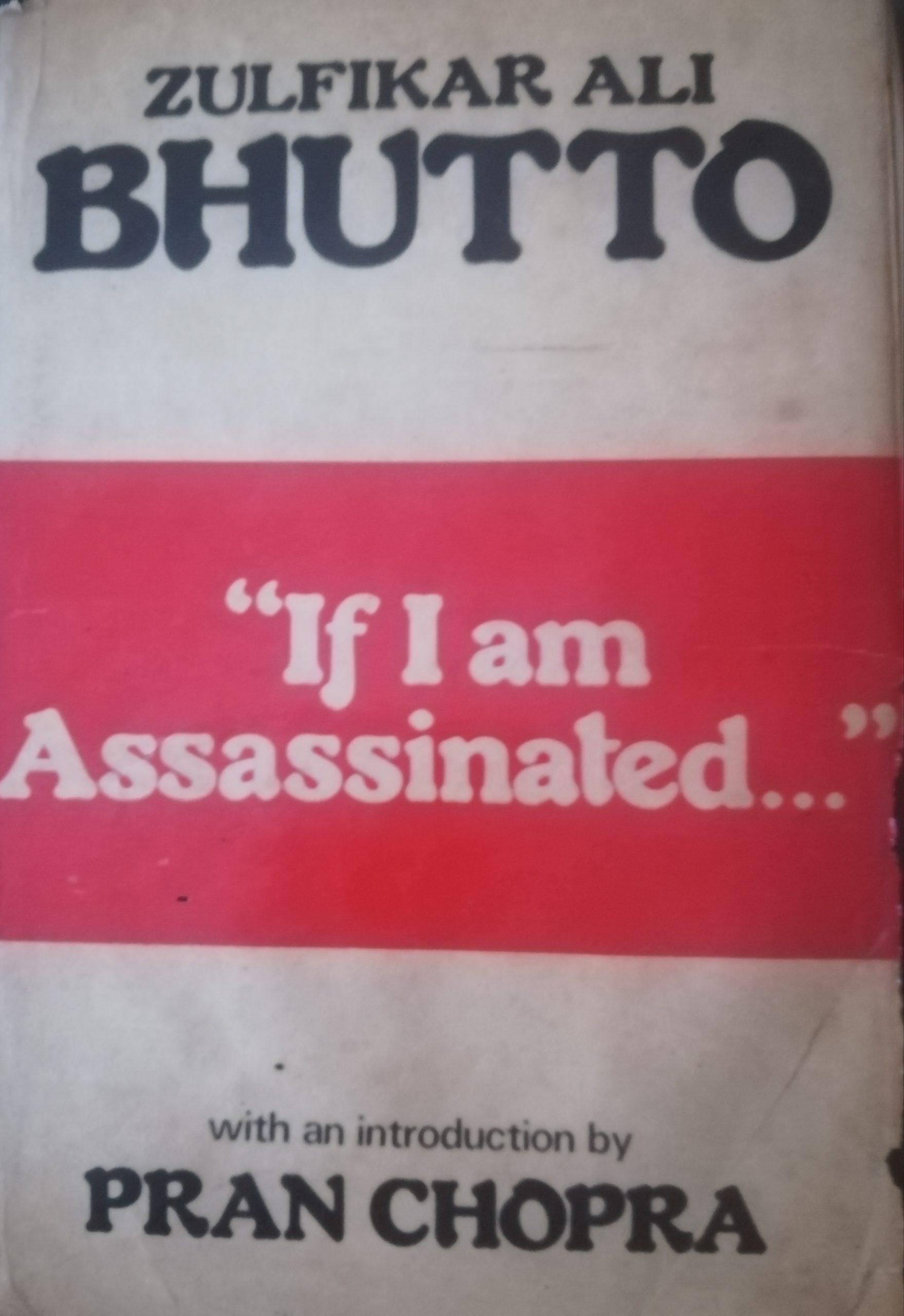 If I am Assassinated