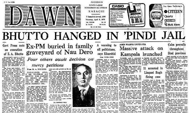 If I am assassinated - Bhutto-3