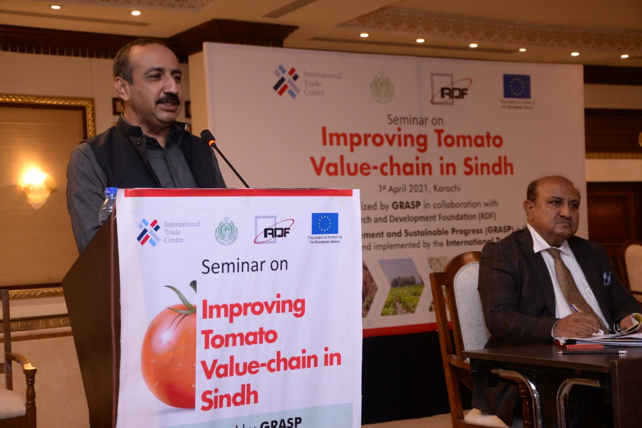 Improving Tomato Market Mechanism and Value Chain in Sindh - Sindh Courier-2