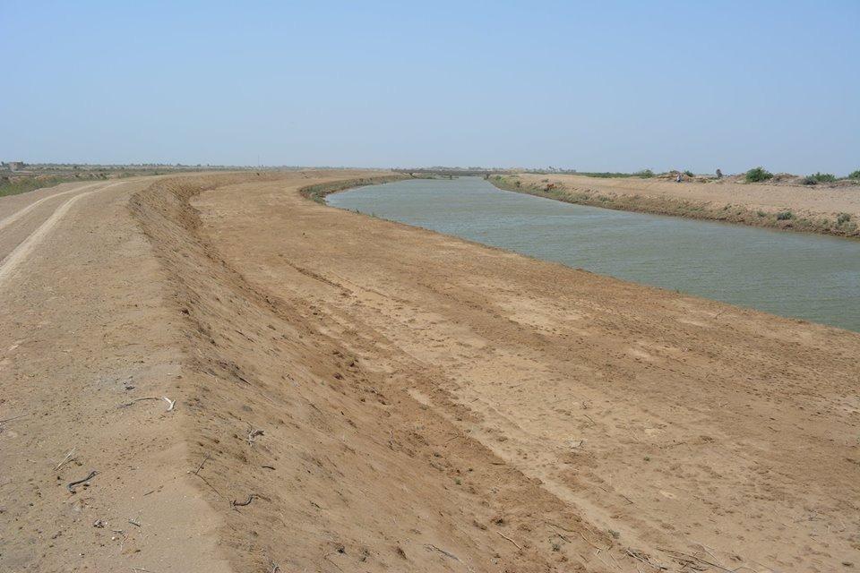 No de-siltation of saline water drains- Sindh Courier-3