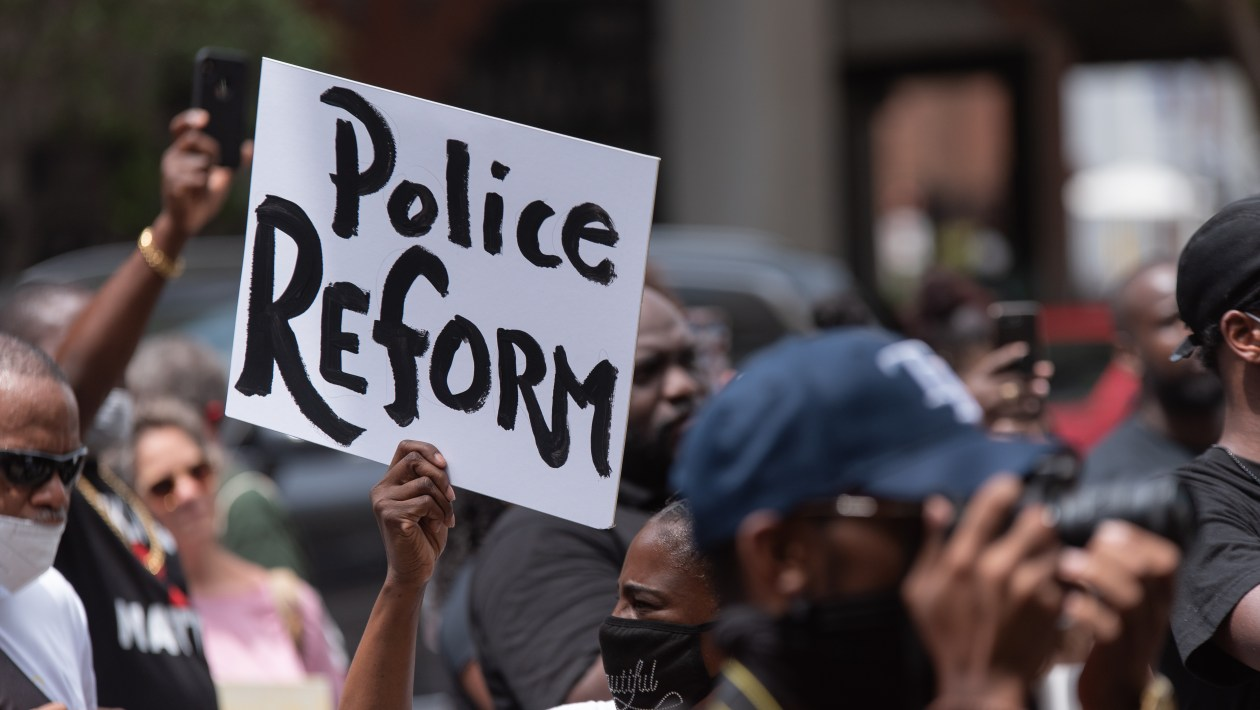 Observations of an Expat- American Turning Point- Shutterstock-Police-Reform