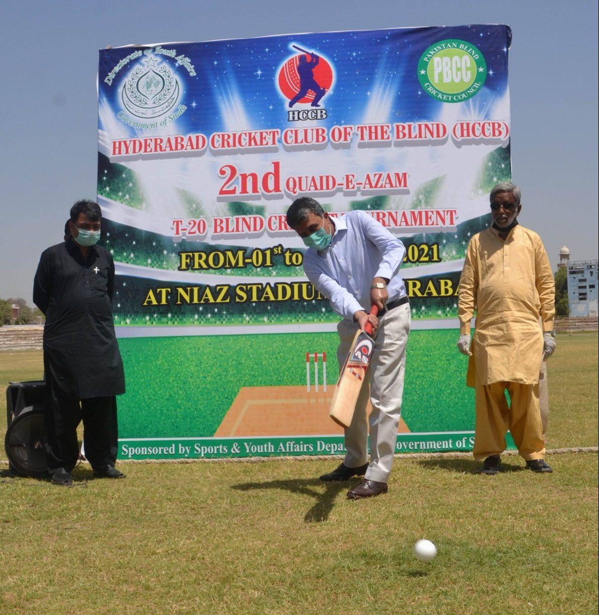 Quaid-e-Azam T20 Blind Cricket Tournament Kicks Off In Hyderabad - Sindh Courier-1