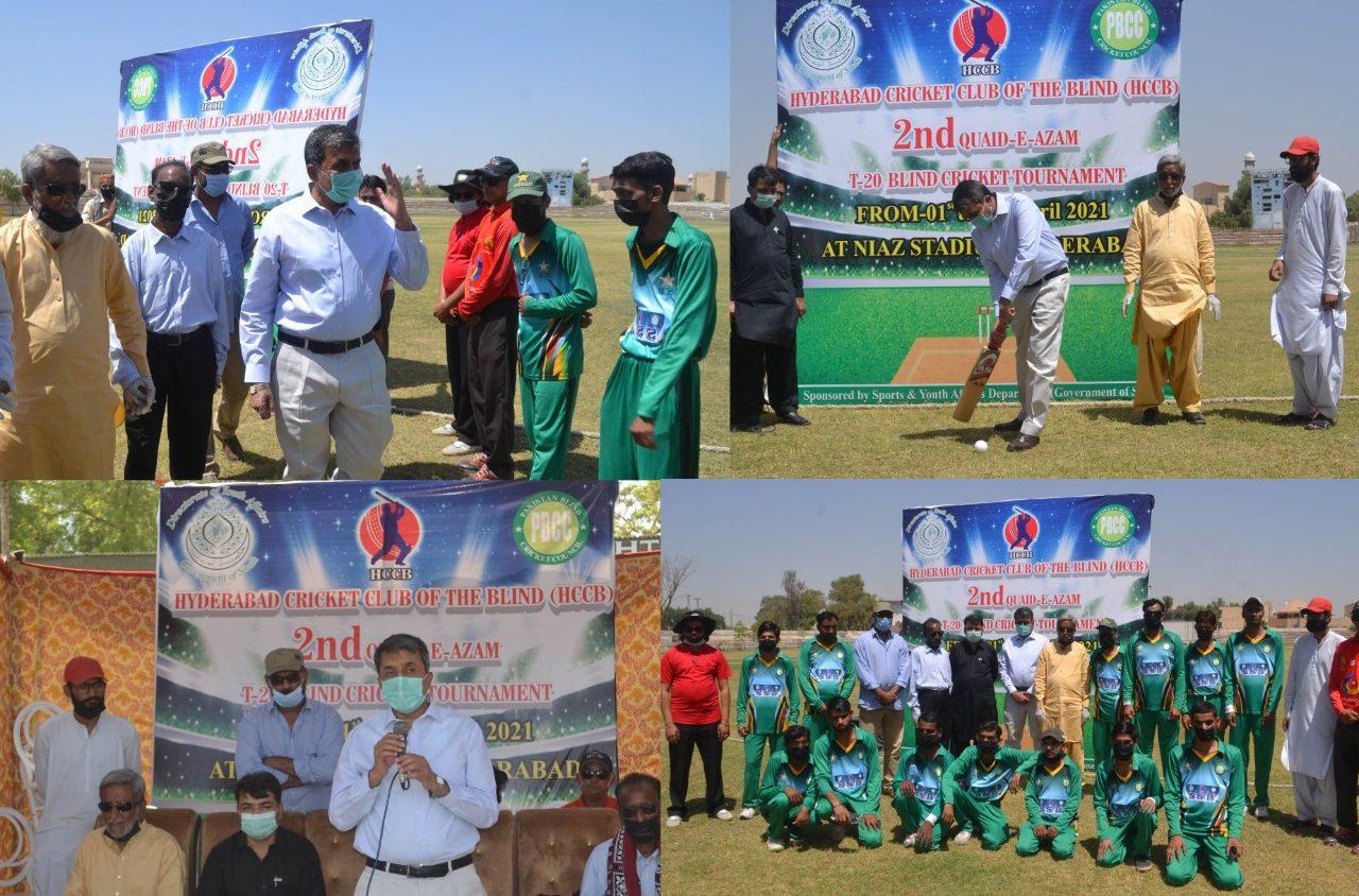 Photo of Quaid-e-Azam T20 Blind Cricket Tournament Kicks Off In Hyderabad