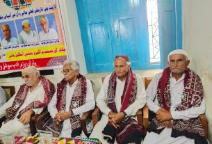 Retired teachers of coastal town Jati eulogized for their services - Sindh Courier-1