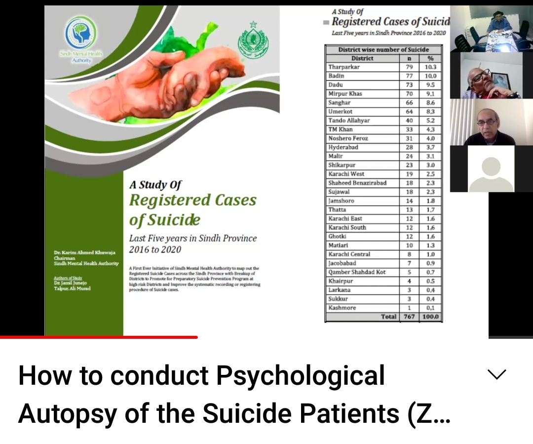 SMHA, Thar Foundation to conduct Psychological Autopsy of Suicide Cases- Sindh Courier-3