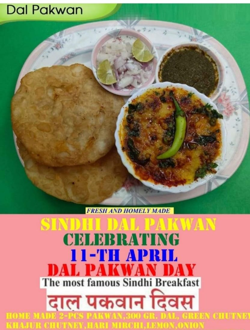 Sindhis around the globe celebrate Daal - Pakwan Day - Sindh Courier