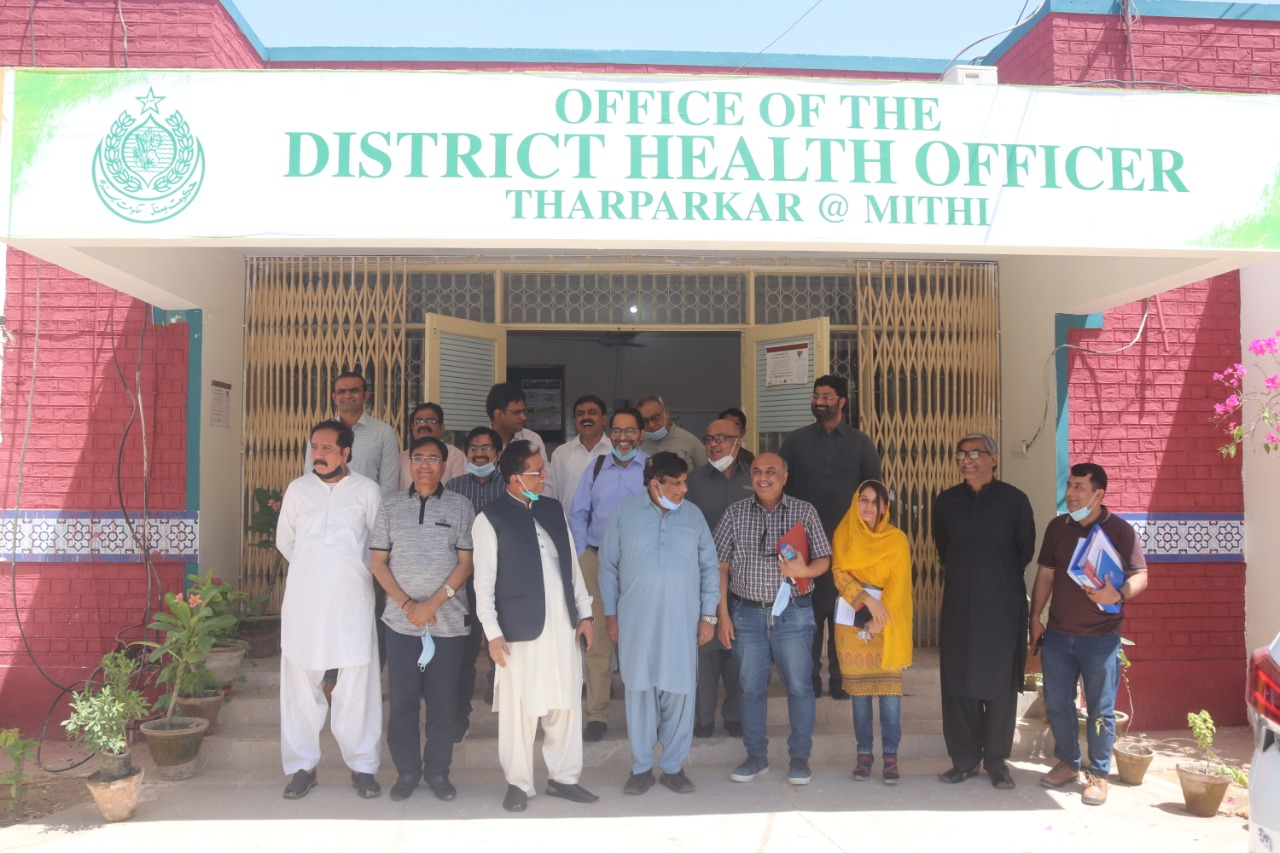 Tele-Help System launched in Tharparkar- Mental disorders- Sindh Courier-4