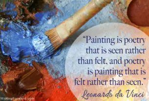 World Literature -Ekphrastic Poetry - Poetry and Painting