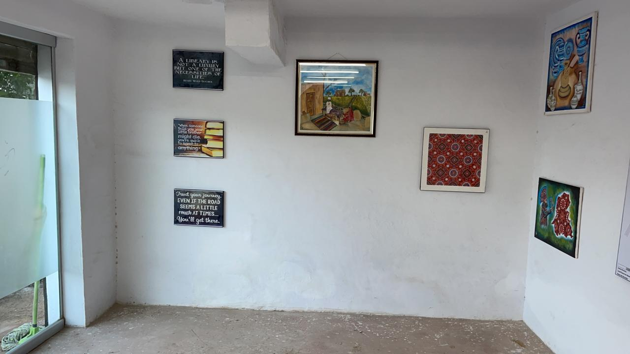 4 Unused shops turned into a beautiful Public Library in Tando Jam - Sindh Courier-3