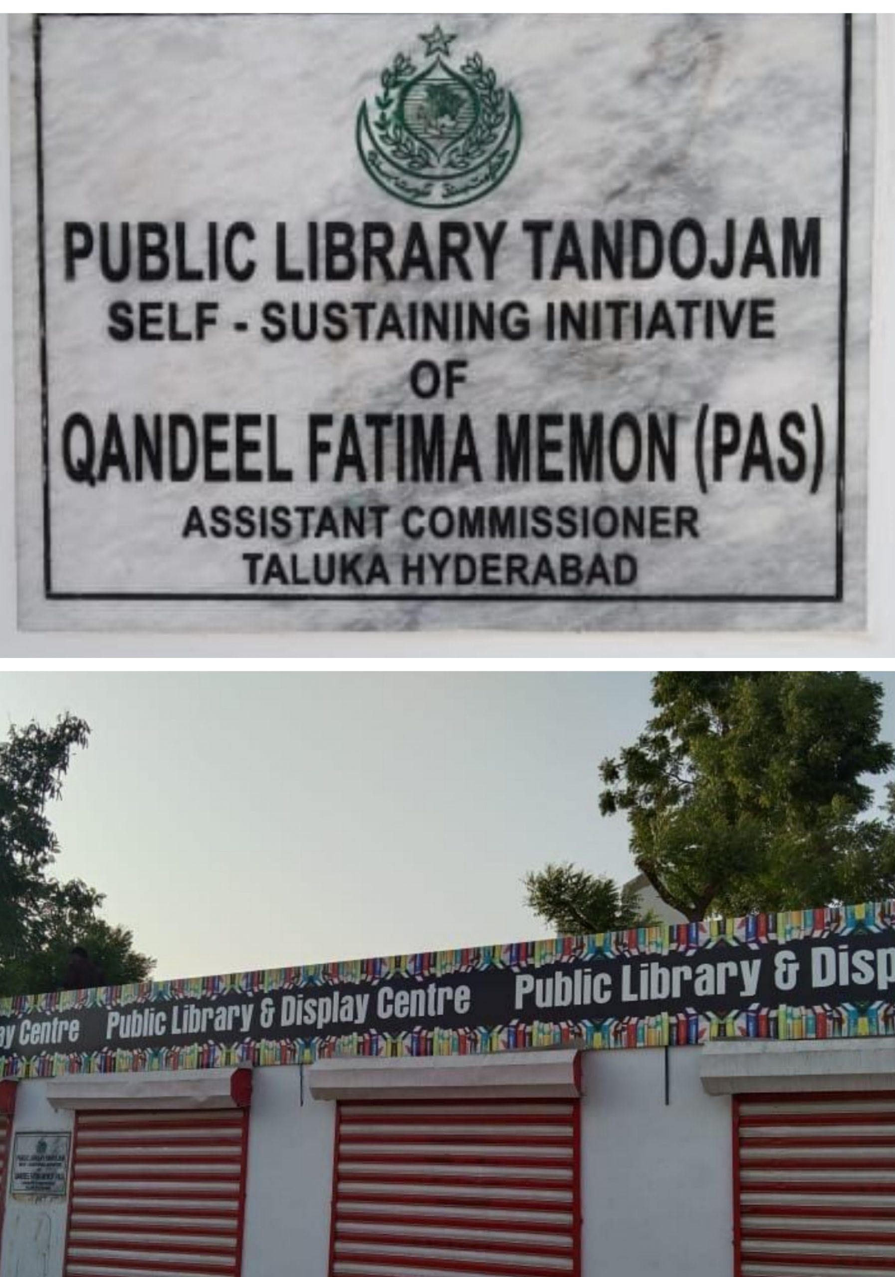 4 Unused shops turned into a beautiful Public Library in Tando Jam - Sindh Courier-4