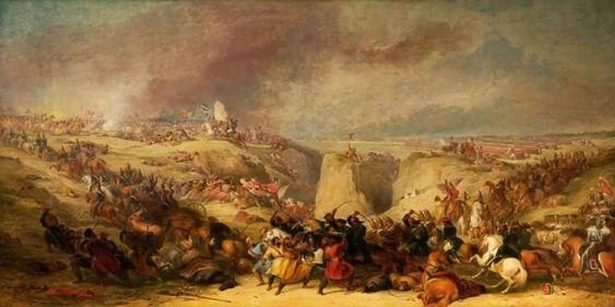 Chholi- Dodo-Soomro- painting -battlefield- Pinterest