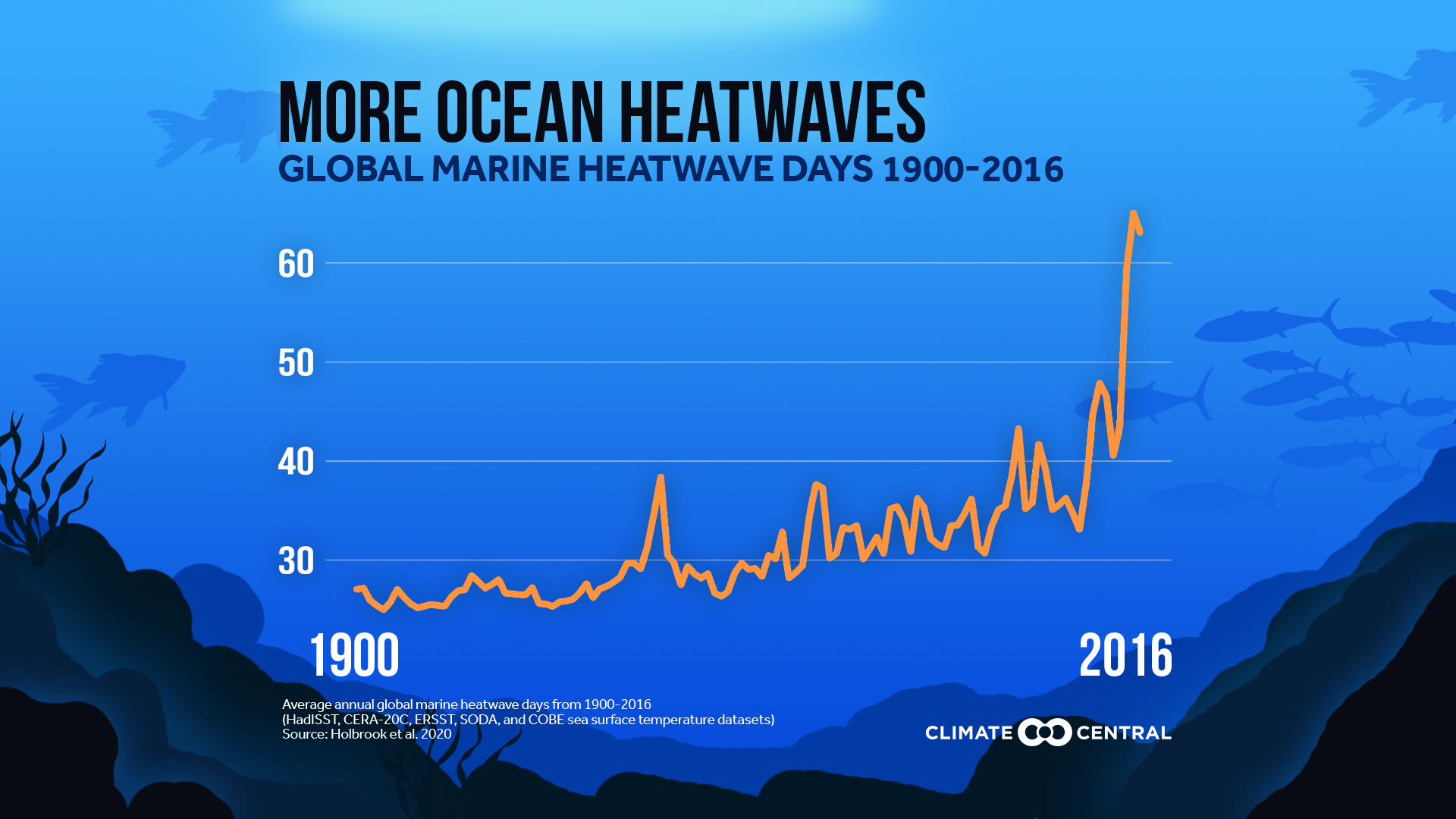 Fevers are plaguing the oceans -