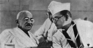 Bose and Gandhi