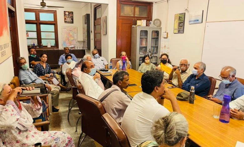 Civil Society pledges continuing struggle - Sindh Courier