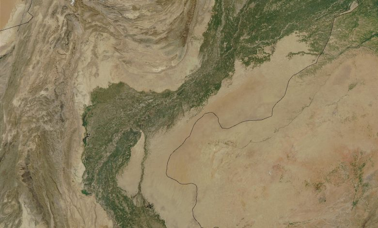 Photo of When the Indus strayed from its course