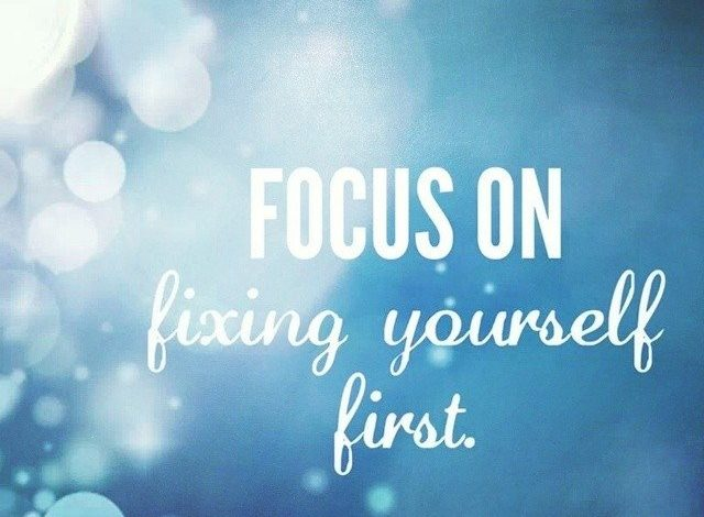 Looking to fix things in life…