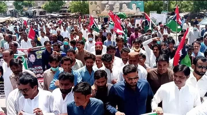 Photo of PPP Tharparkar takes out rally against IRSA