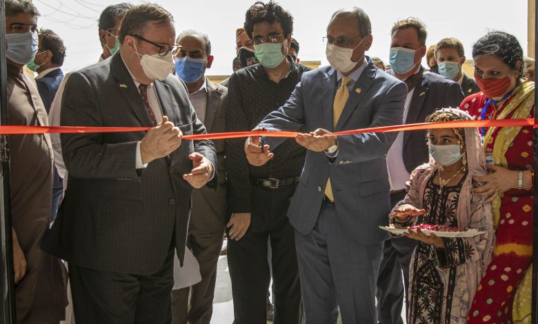 USAID-funded school inaugurated in a Karachi village - Sindh Courier