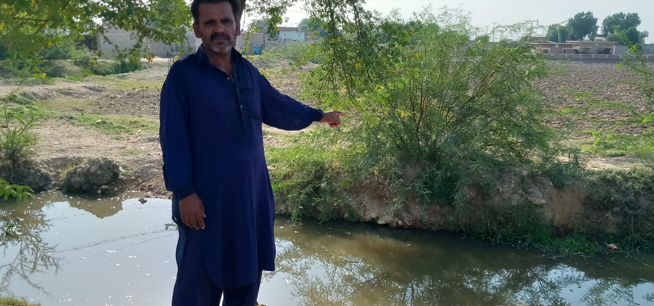 Water pollution continues posing threat to human life in Sindh-Sindh Courier-17