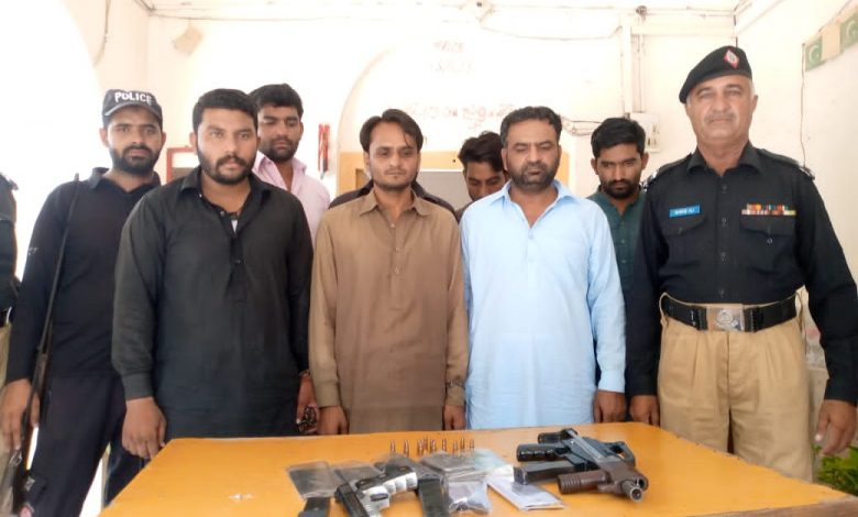 Photo of 7 Armed robbers arrested after encounter near Ubauro
