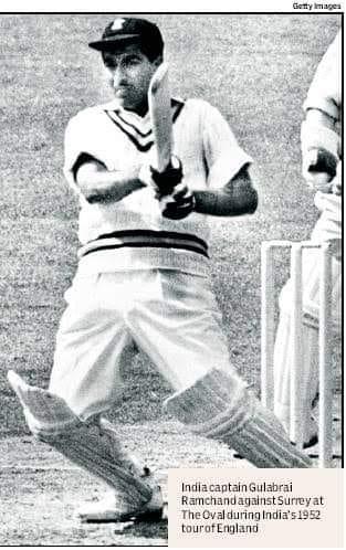 Cricketer -Sindhi- Gulabrai-Ramchand- SindhCourier-2