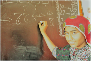 Girls Eduction - Maria Partab's Mission -Sindh Courier