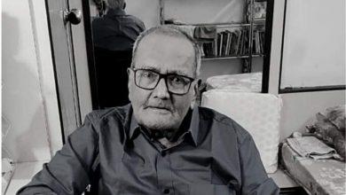 Photo of Acclaimed Sindhi writer Heero Shewkani passes away