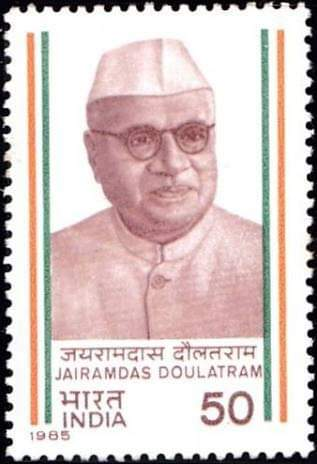 Photo of Jairamdas Doulatram – A Sindhi who became the first Governor of Bihar after Independence of India