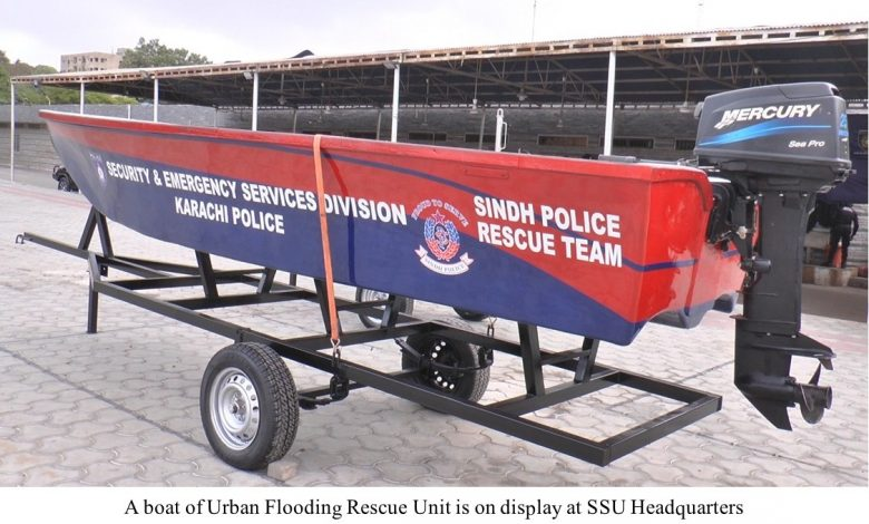 Photo of Sindh Police establish Urban Flooding Rescue Unit for Karachi