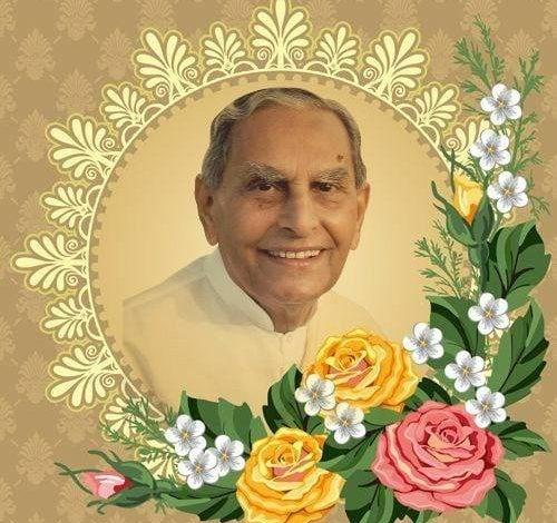 Photo of Dada Jashan Vaswani – A Scientist, Philosopher, Spiritual Leader and Great Humanist