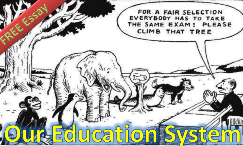 Photo of The collapse of education system is the collapse of nation