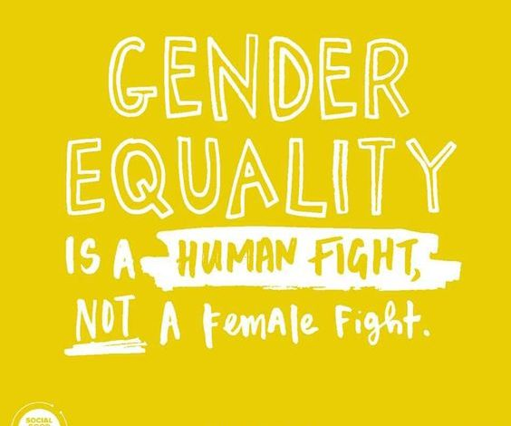 Photo of Gender Equality is a Human Fight, not a Female Fight
