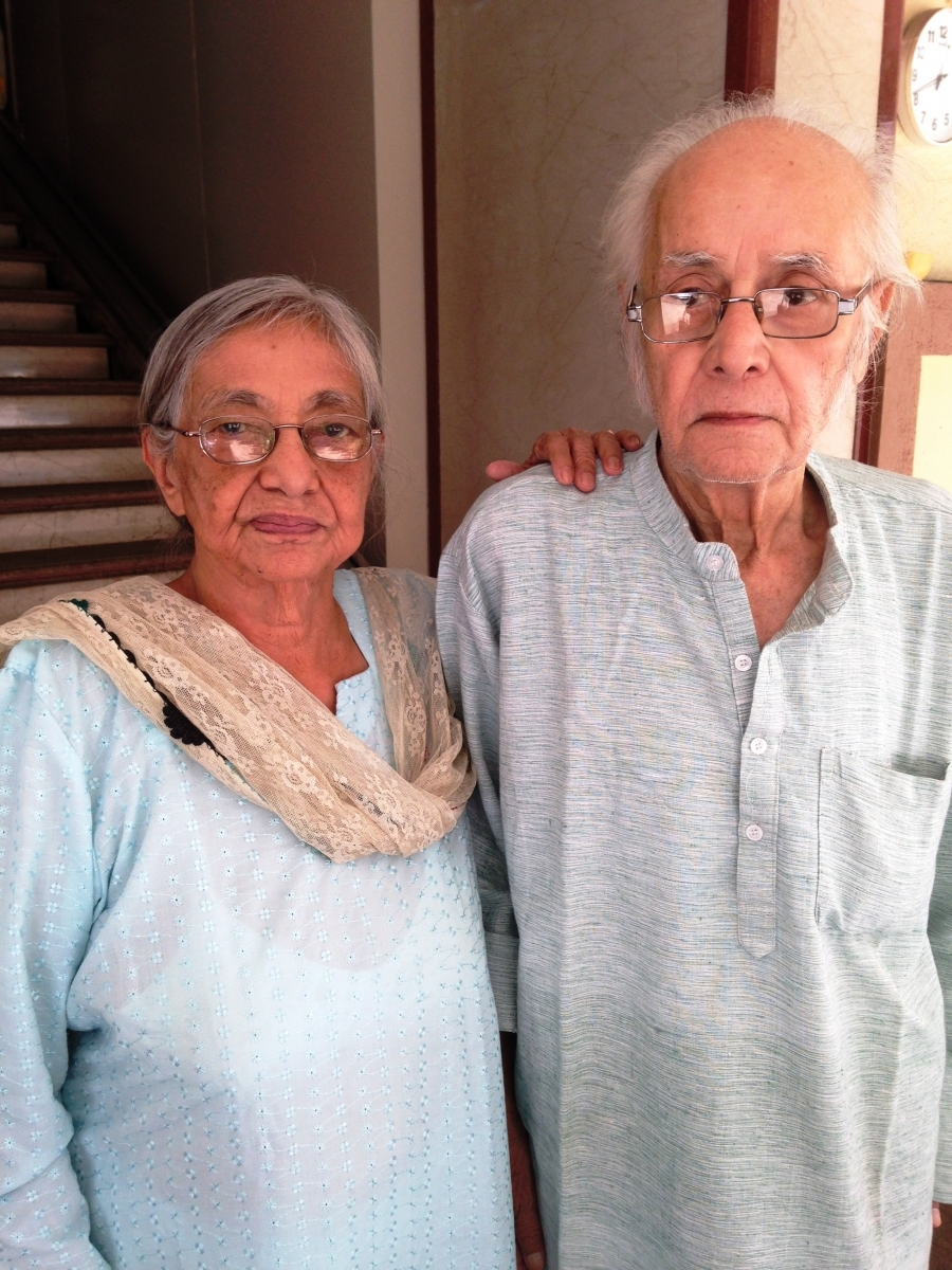 Kala and Dr. Moti Prakash