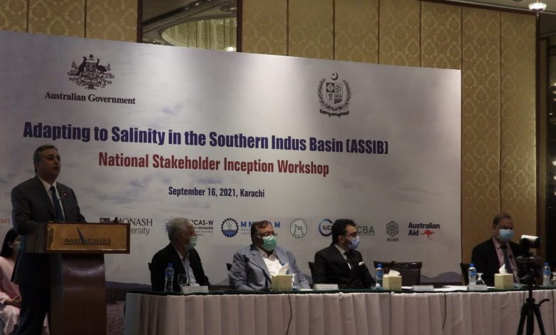 Photo of 'Adapting to Salinity in the Southern Indus Basin' project launched