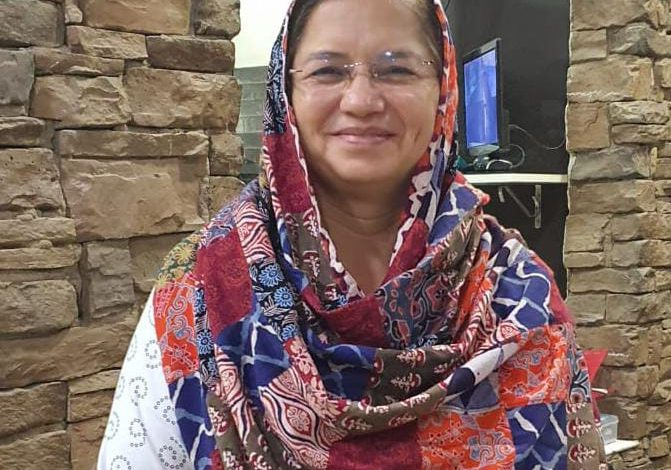Photo of Vinita Bhawnani striving for promoting Sindhi culture and language