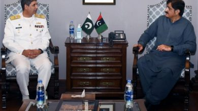 Photo of Murad seeks Pak Nay's help for developing tourist resorts at Sindh's islands