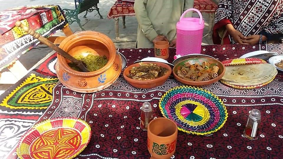 Sindhi Khadha - Beh, Fish and Pali- Sindh Courier