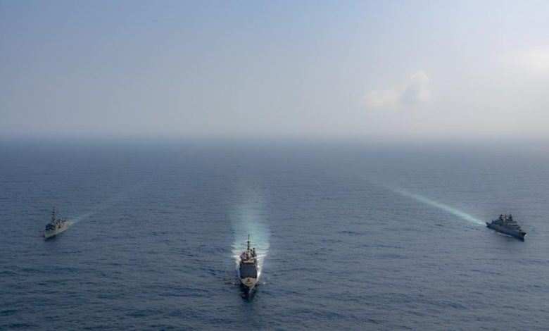 Photo of U.S., Pakistan and German Navies Conduct Joint Exercise In Arabian Sea